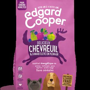 Chevreuil frais & Canard élevé en plein air (Sac de 12 Kg)