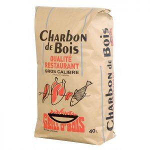 """Charbon de Bois """"Qualité Restaurant"""" Grill O'Bois (Sac de 40L)"""