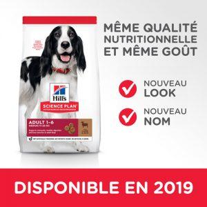 Hill's Science Plan Adult 1-6 Medium agneau, riz (le sac de 12kg)