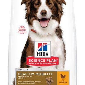 Hill's Science Plan Adult 1+ Healthy Mobility Medium poulet (le sac de 12kg)