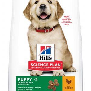 Hill's Science Plan Puppy Large poulet (le sac de 16 kg)
