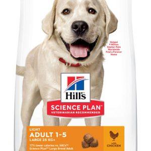 Hill's Science Plan Adult 1-5 Light Large poulet (le sac de 18kg)