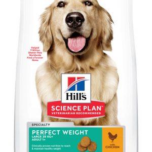 Hill's Science Plan Adult 1+ Perfect Weight Large poulet (le sac de 12 kg)