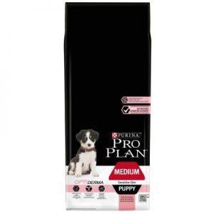 PURINA PRO PLAN Medium Puppy Sensitive Skin saumon (Sac de 12 kg)