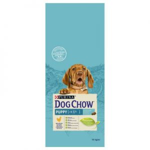PURINA Dog Chow Puppy, poulet (Sac de 14 kg)