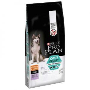 PURINA PRO PLAN Medium & Large Adult OPTIDIGEST sans céréales (Sac de 12 kg)