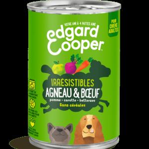Agneau & Boeuf aux pommes, carottes et betteraves (boite de 400g)